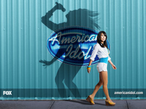 American Idol shadow